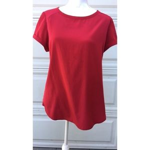 Chico's women's red size 1 (medium) blouse
